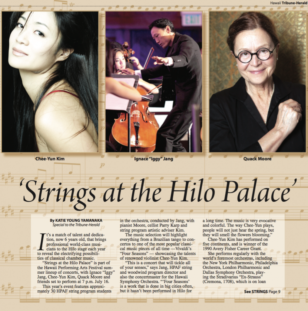 Strings at the Hilo Palace Theater