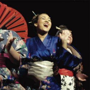 actor performing in The Mikado